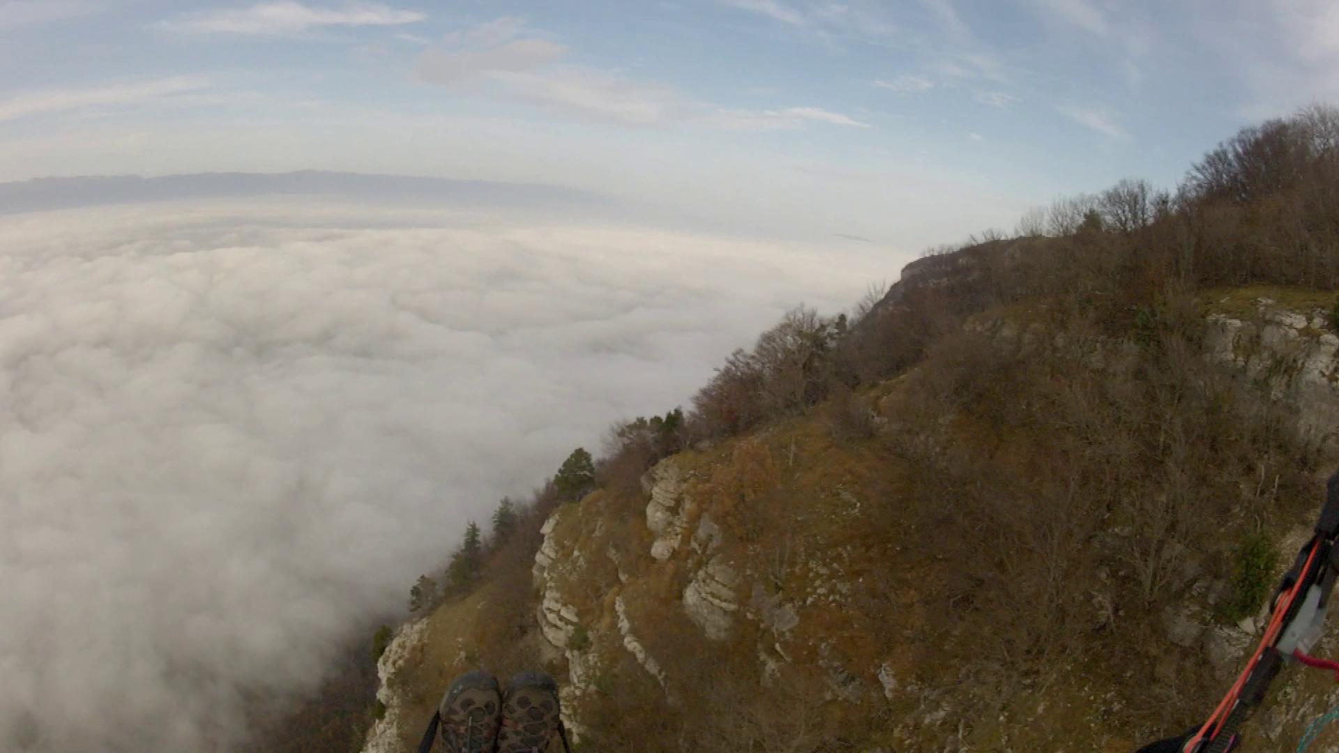 image mer de nuages geneve