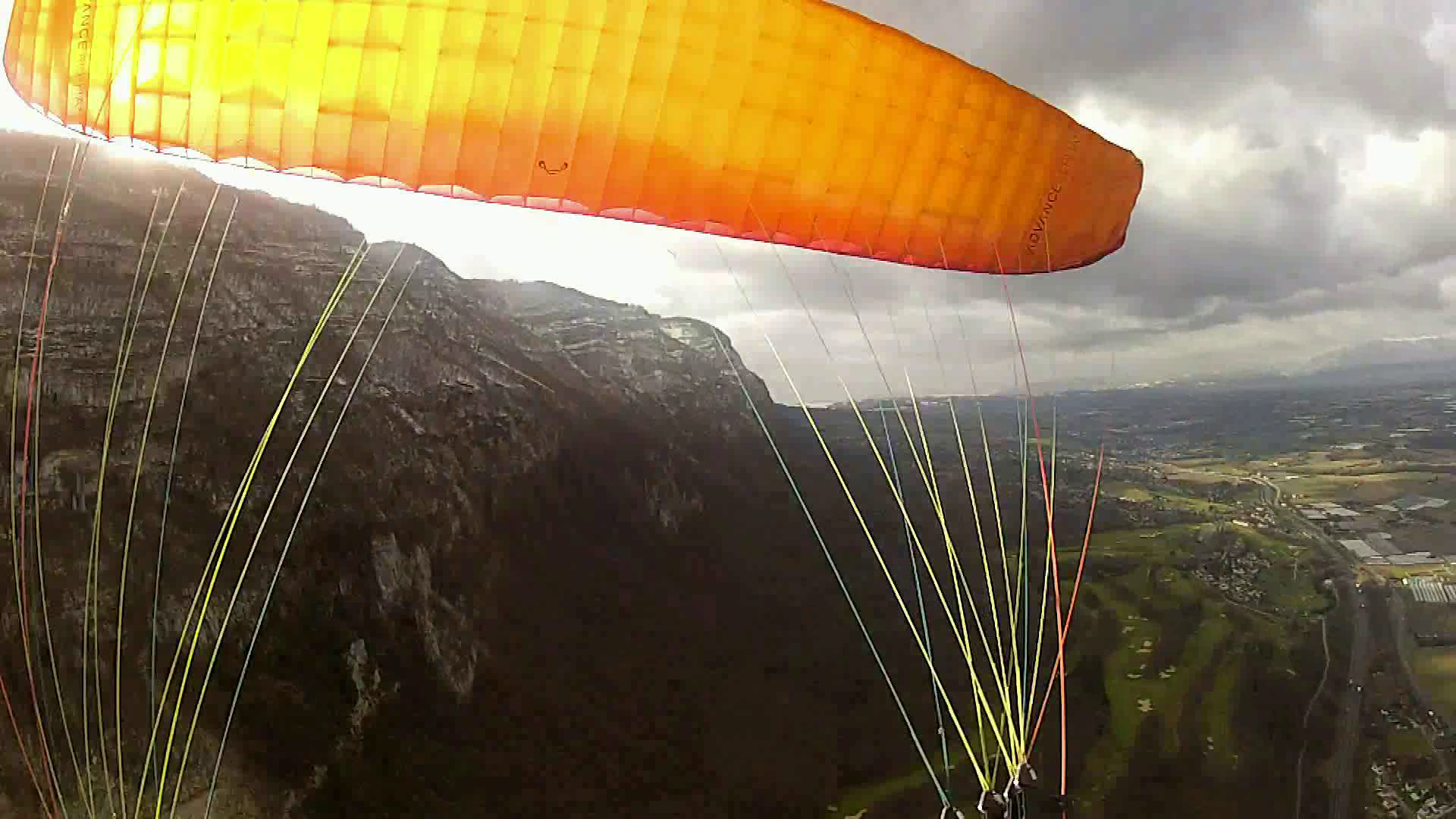 image 360 parapente freestyle