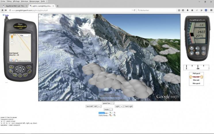 image simulateur parapente