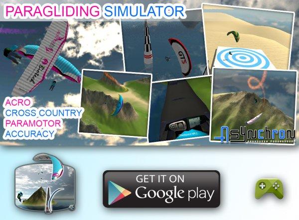 image asynchron paragliding simulator