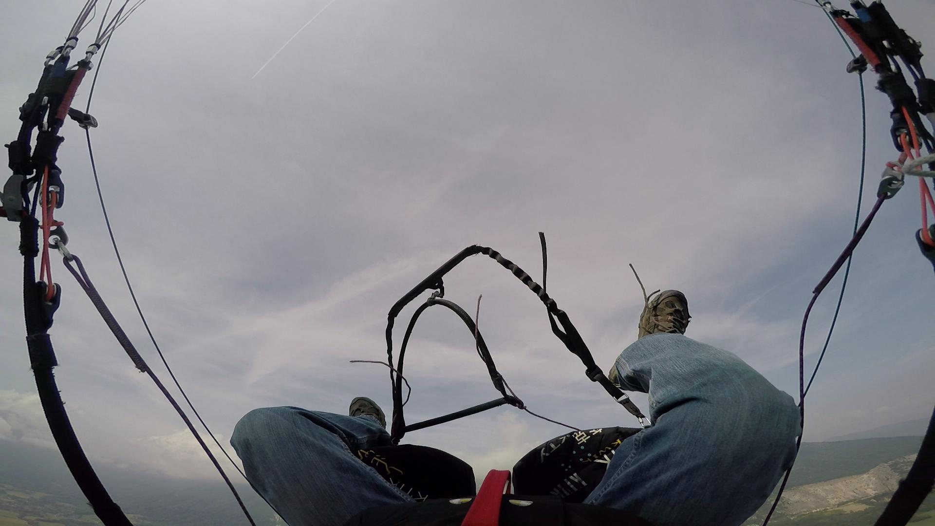 paragliding full stall