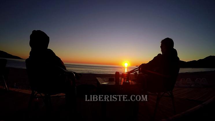 sunset beach Oludeniz parapente