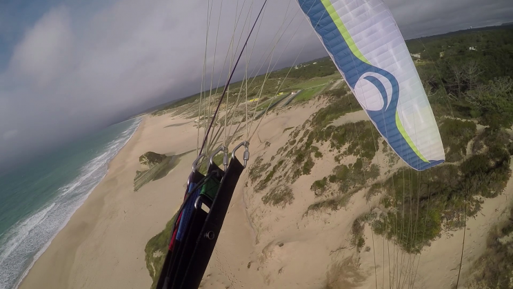image wing parapente Meco portugal