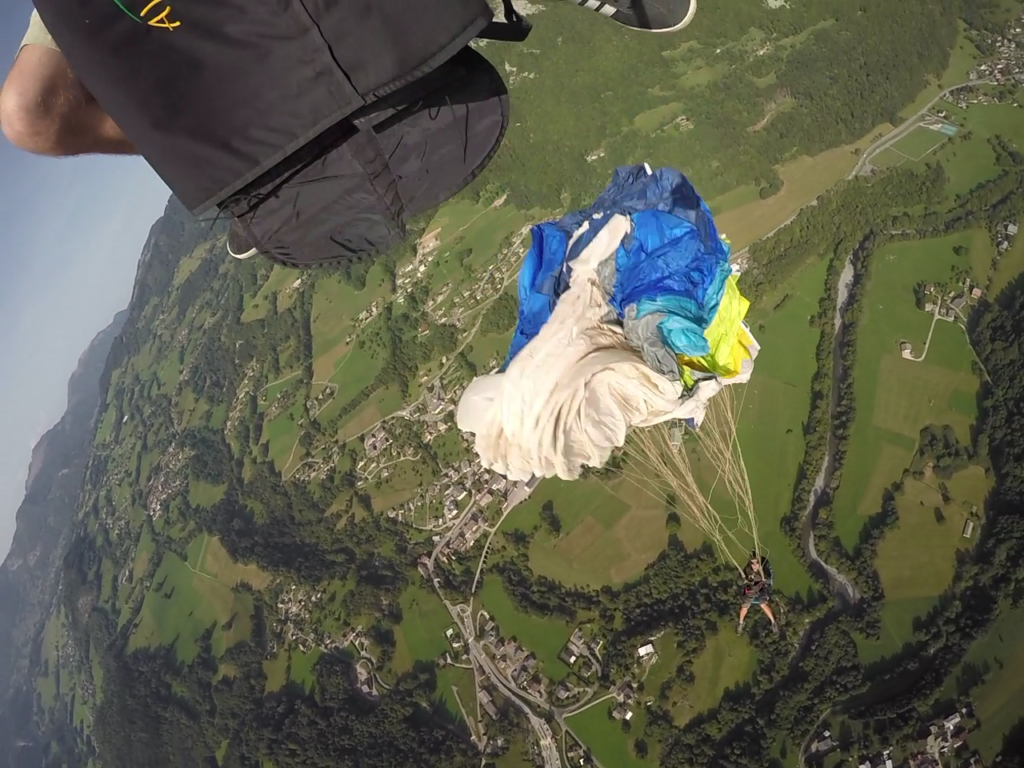 Session Largage parapente D-Bag