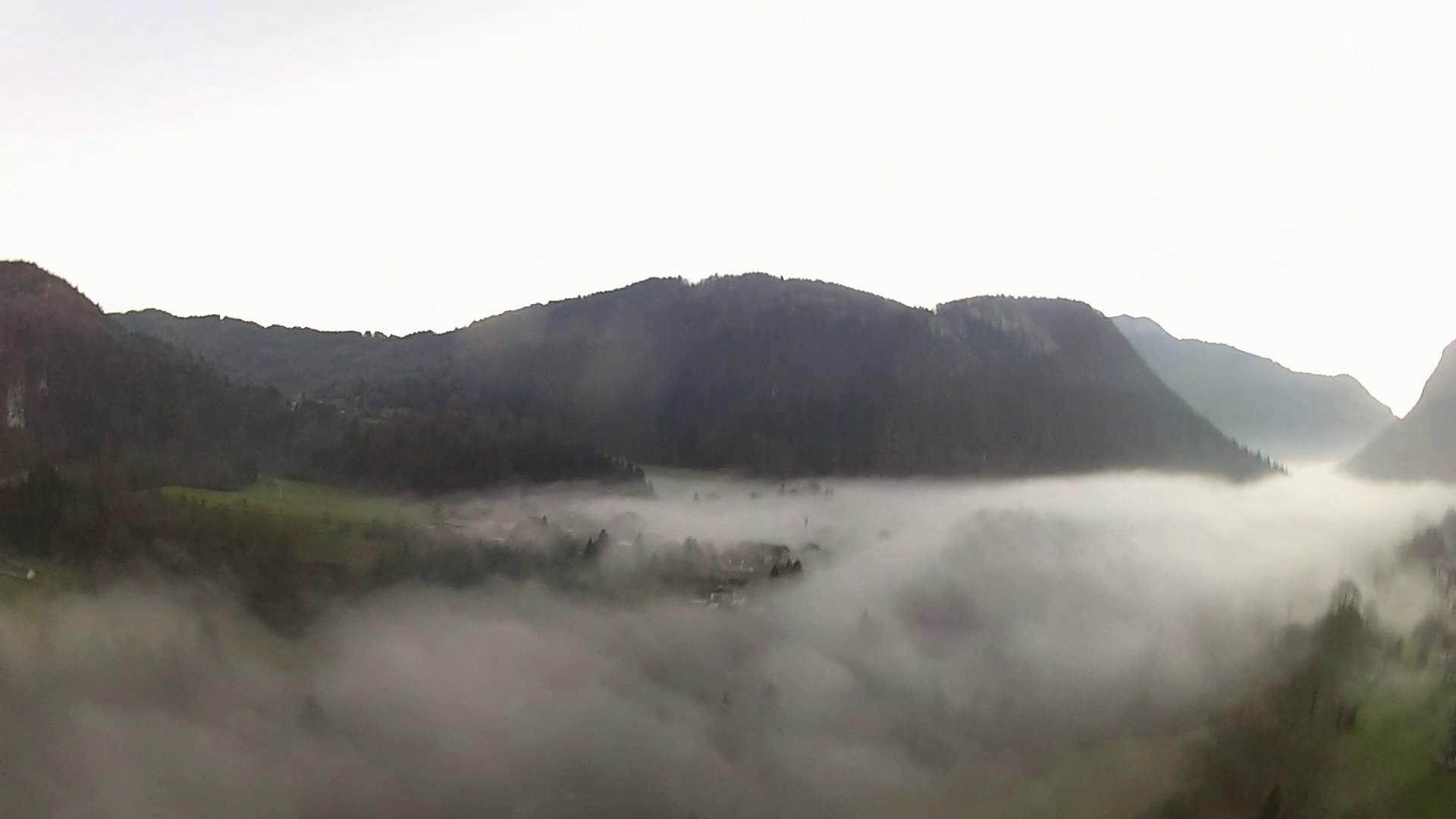 image mer de nuages