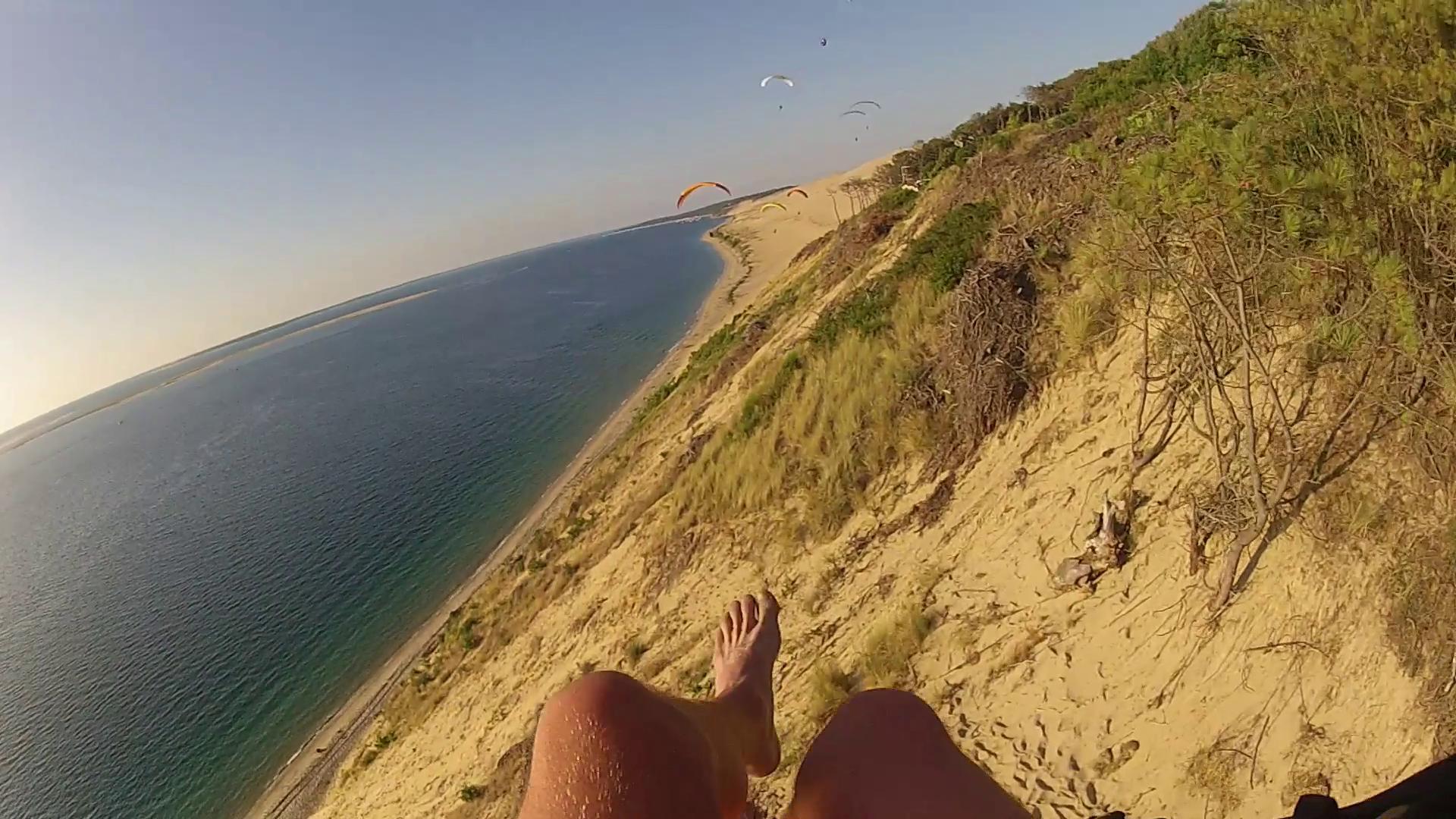 image soaring en parapente dune du pila